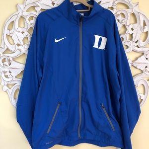 DUKE Nike XL zippered jacket